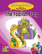 Read N Color-The Foolish Frog-Tales From Panchtantra