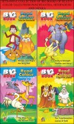 COLLECTION OF BIG BOOKS OF READ N COLOR TALES FROM PANCHTANTRA,