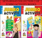 COLLECTION 2 OF JUMBO ACTIVITY BOOKS